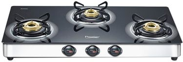 Prestige Royale Plus SS Gas Cooktop (3 Burner) Price in India