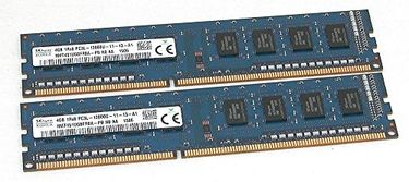 Sk Hynix (HMT451U6BFR8A-PB) 8GB (2 x 4GB) DDR3 Desktop Ram Price in India