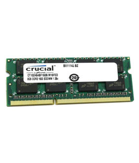 Crucial (CT102464BA160B) 8GB DDR3 Ram Price in India