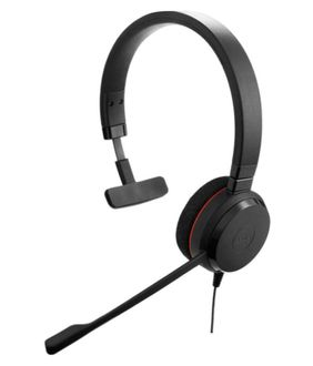 Jabra Evolve 20 MS Mono Over Ear Wired Headset Price in India