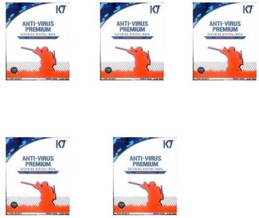 K7 Antivirus Premium 2016 5PC 1Year Price in India