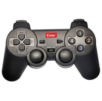 Enter E-GPV USB Game Pad W Vibration Single Player Price in India