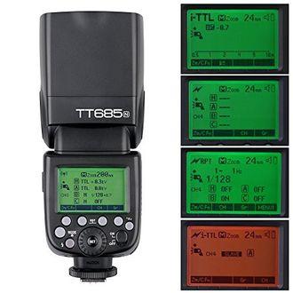 Godox TT685N i-TTL Wireless Speedlight Flash (For Nikon) Price in India