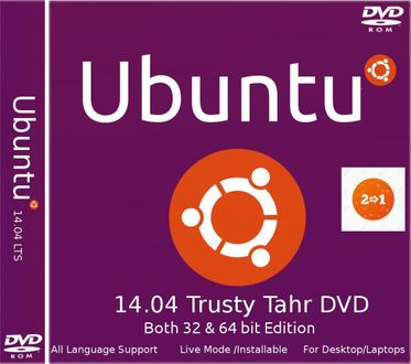 Ubuntu 14.04 Trusty Tahr (32 bit & 64 bit) Operating System Price in India