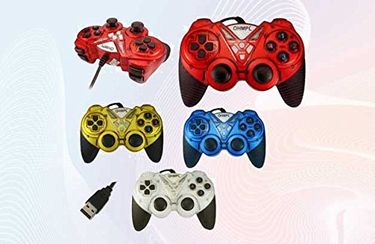 Quantum QHM 7487 Dual Shock Game Pad Controller Price in India