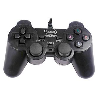 Quantum QHM 7468 USB Vibration Game Pad Controller Price in India