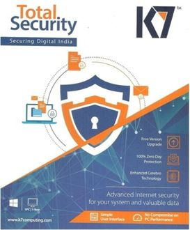 K7 Total Security 2017 1Pc 1Year Price in India