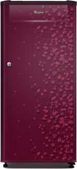 Whirlpool 205 Genius Cls Plus 190L 4S Single Door Refrigerator (Gloria) Price in India