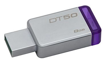 Kingston DataTraveler 50 (DT50) 8GB USB 3.1 Pendrive Price in India