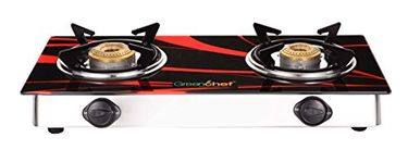 Greenchef Crystal 2 Burner Glass Top Gas Cooktop Price in India