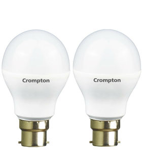Crompton Greaves 7W B22 LED Bulb (White,Pack Of 2) Price in India