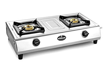 Sunflame Traditional Crown SS 2 Burner Gas Cooktop Price in India