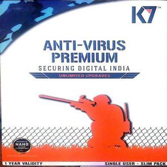 K7 Antivirus Premium 2016 7Pc 1Year Price in India