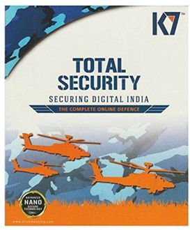 K7 Total Security 2016 9Pc 1Year Price in India