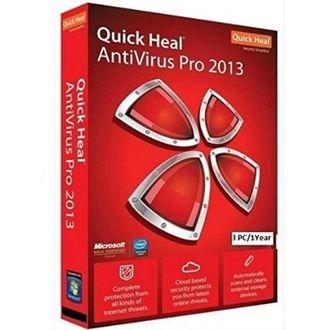 Quick Heal Pro 2013 3 User 1 Year AntiVirus Price in India