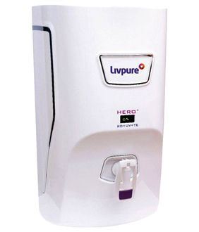 Livpure Hero Plus 7Ltr RO UV Taste Enhancer Water Purifier Price in India