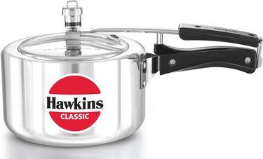 Hawkins Classic A30 Wide Aluminium 3 L Pressure Cooker (Inner Lid) Price in India