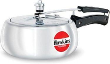 Hawkins Contura HC 35 Aluminium 3.5 L Pressure Cooker (Inner Lid) Price in India