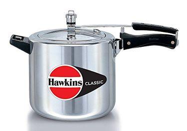 Hawkins Classic CL65 Aluminium 6.5 L Pressure Cooker (Inner Lid) Price in India