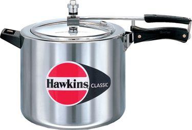 Hawkins Classic CL10 Aluminium 10 L Pressure Cooker (Inner Lid) Price in India