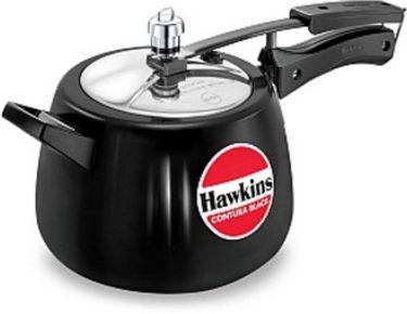 Hawkins Contura Black CB40 Aluminium 4 L Pressure Cooker (Inner Lid) Price in India