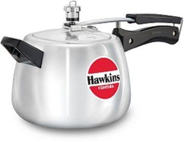 Hawkins Contura HC40 Aluminium 4 L Pressure Cooker (Inner Lid) Price in India