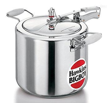 Hawkins Bigboy E20 Aluminium 22 L Pressure Cooker (Inner Lid) Price in India
