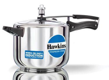 Hawkins Stainless Steel B30 Aluminium 5 L Pressure Cooker (Inner Lid) Price in India