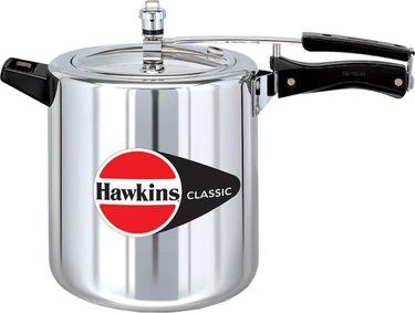 Hawkins Classic CL8T Aluminium 8 L Pressure Cooker (Inner Lid)  Price in India