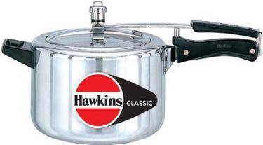 Hawkins Classic CL50 Aluminium 5 L Pressure Cooker (Inner Lid)  Price in India