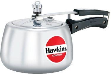 Hawkins Contura Aluminium HC30 3 L Pressure Cooker (Inner Lid)  Price in India