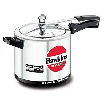 Hawkins Hevibase IH65 Aluminium 6.5 L Pressure Cooker (Inner Lid) Price in India