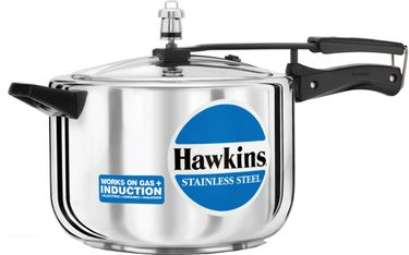 Hawkins Stainless Steel B85 Aluminium 8 L Pressure Cooker (Inner Lid) Price in India