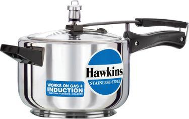 Hawkins Stainless Steel B45 Aluminium 4 L Pressure Cooker (Inner Lid) Price in India