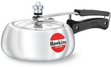 Hawkins Contura HC20 Aluminium 2 L Pressure Cooker (Inner Lid) Price in India