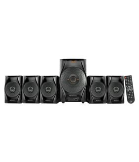 Zebronics Cuba-BT RUCF 5.1 Channel Multimedia Speaker System Price in India
