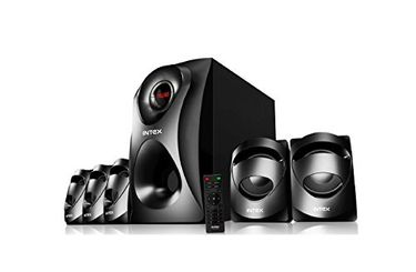 Intex IT-Craze SUFBT 5.1 Channel Speaker System Price in India