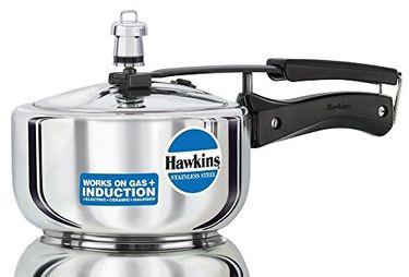 Hawkins Stainless Steel B25 2 L Aluminium Pressure Cooker (Inner Lid) Price in India