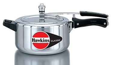 Hawkins Classic CL40 Aluminium 4 L Pressure Cooker (Inner Lid) Price in India