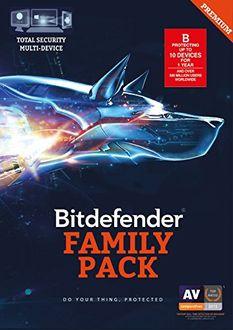 Bitdefender Family Pack 2016 10 PC 1 Year Antivirus Price in India