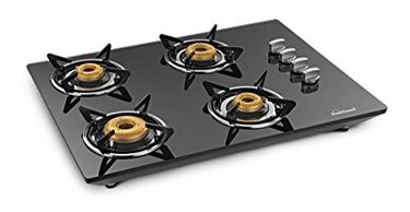 Sunflame Hobtop Counter CT4AI 4 Burner Auto Ignition Gas Cooktop Price in India