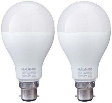 Halonix 15W B22 LED Bulb (Cool Day Light, Pack of 2) Price in India