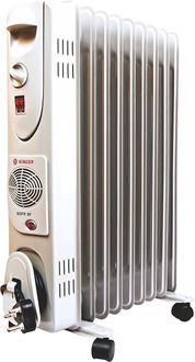 Singer SOFR 9F 2600W Oil Filled Radiator Room Heater Price in India