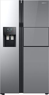 Samsung RS51K56H02A 571L Inverter Side By Side Refrigerator Price in India