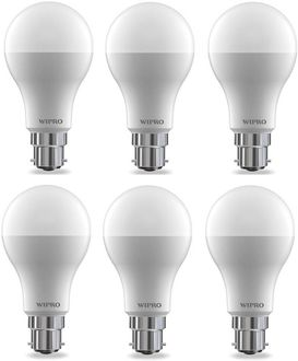 Wipro 15W  B22 LED Bulb (Cool Day Light, Pack of 6) Price in India