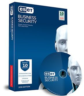 Eset Business Security Pack 2016 10 PC 1 Year Antivirus Price in India
