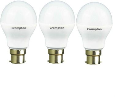 Crompton 14W B22 LED Bulb (White, Pack of 3) Price in India
