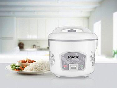 Borosil Pronto Deluxe 1.8L Electric Cooker Price in India