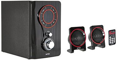Intex IT-211 TUFB 2.1 Multimedia Speakers Price in India