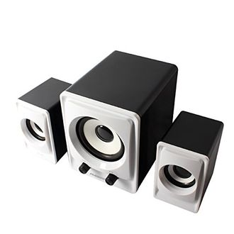 Ambrane SP-100 2.1 Channel Multimedia Speakers Price in India